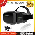 VR SHINECON 1.0 Headmount Version Virtual Reality 3D Glasses Google Cardboard HD VR Glasses + Wireless Mouse Remote Gamepad