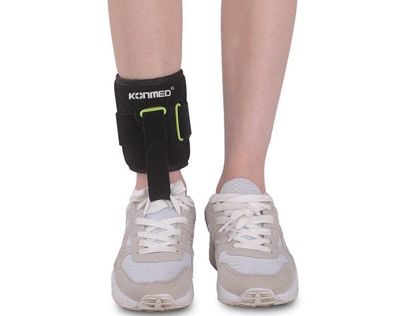 Adjustable Drop Foot Brace AFO AFOs Support Strap Elevator Poliomyelitis Hemiplegia Stroke Universal Size 4