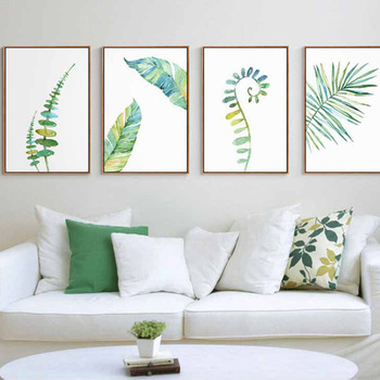 Watercolor Minimalist Poster Painting Nature