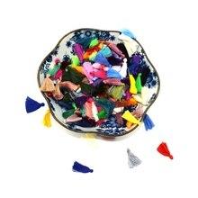 Fashion 20-200pcs Handmade 30mm Long thick big tassel, Pure cotton tassel for DIY dress garment/home textile accessories