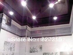 Фиолетовые Глянцевые натяжные потолки для украшения потолка/высокомощная лампа