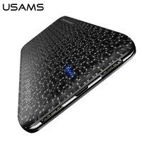 Power Bank For Xiaomi Mi USAMS Mosaic Ultra Slim 10000mAh Powerbank For IPhone 4 5 6