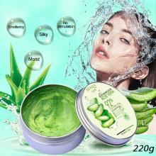 220g Pure Natural Aloe Vera Smooth Moisturizing Anti Acne Kill Bacteria Soothe Face Cream pure and natural moisturizing aloe vera gel