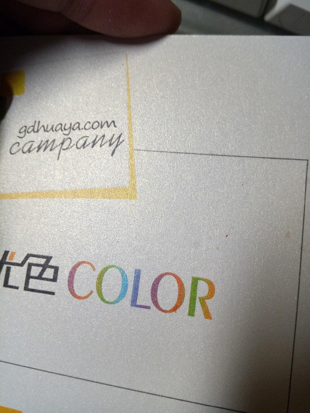 ice white business card /name card printing custom