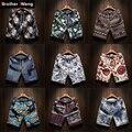 Shorts da Praia dos homens de moda de nova Roupa Lazer shorts Soltos Hetero Confortável Bermuda Homens calções de verão Da Marca de Grande tamanho M-5XL