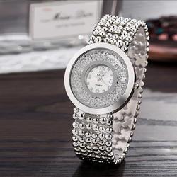 Reloj Mujer для женщин Diamond Watch Blng Bling нержавеющая сталь Аналоговые кварцевые наручные часы леди роскошные Rinstone Wtaches золото Clcok