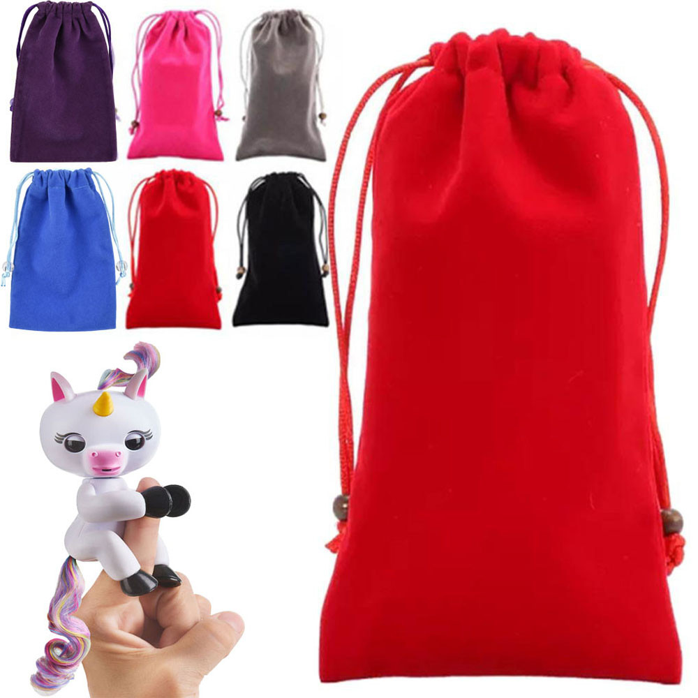 HIINST Dolls Accessories Bag Portable Kids Play Storage Toys Rug Box For Fingerling Unic ...