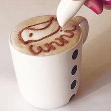 Новая электрическая выпечка латте художественная ручка кофейная резная ручка для специй для кофейного торта горячая Распродажа украшения торта Кондитерские инструменты