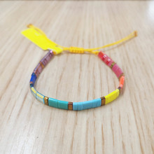 Go2boho Tila Beads Bracelet Women Miyuki Bracelets Bohemian Summer Beach Pulseras Mujer 2019 New Chic Jewelry Colorful Handmade