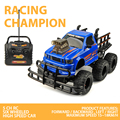 ET YE81402 Remote Control Electric Truck 1/10 scale 4CH 6 wheel 27Mhz RC dirt bike Off-road car RC Vehicles with colorful light