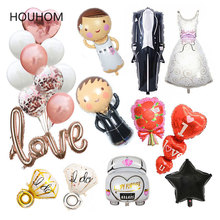 Wedding Decoration Balloon Bridal Bride To Be Mr Mrs Decor Birthday Hen Party Favors Bachelorette Supplies