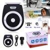 New Car Bluetooth 4 1 Audio Receiver Speaker Handsfree Car Kit Calls Voice Speaker Car AUX