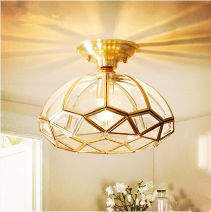 Iwhd Glass Ball Led Ceiling Light Fixtures Living Room Porch Edison Vintage Ceiling Lamps Luminaire Lighting Lamparas De Techo Lights & Lighting Ceiling Lights