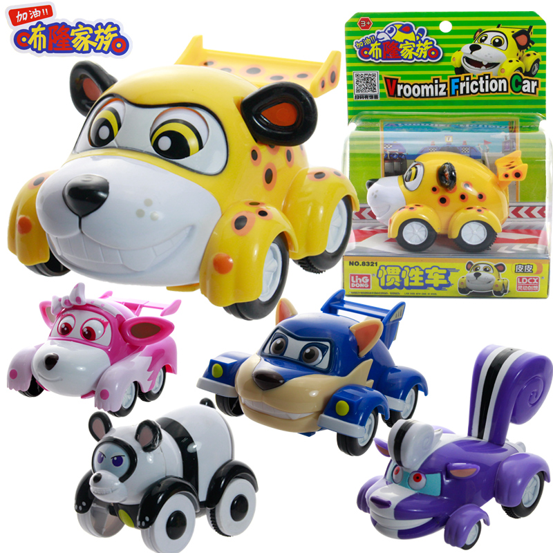 все цены на Big!!! Classic Kawaii South Korea Anime Vroomiz Friction Pull Back Cars Cartoon Toys For Children gift Baby Wind Up Toys онлайн