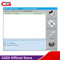 For BMW F Series Coding Authorization for CGDI Prog for BMW MSV80 Key Programmer