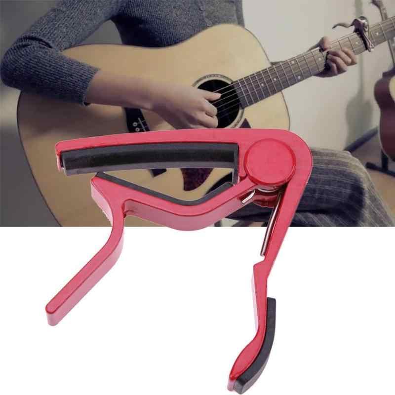 المهنية سبيكة لحن المشبك مفتاح الزناد Capofor الصوتية الكهربائية آلات موسيقية الغيتار اكسسوارات جديد