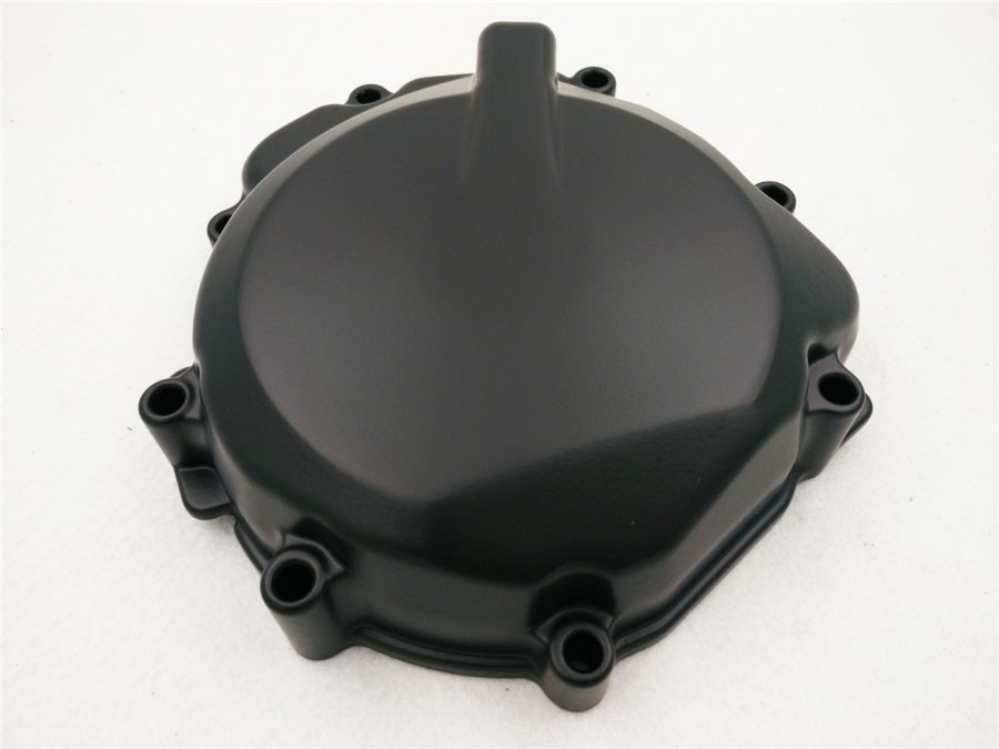 Aftermarket free shipping motorcycle accessories Engine stator cover for 2005-2006 Suzu GSX-R 1000 Crankcase Left Black aftermarket free shipping motorcycle parts engine stator cover for yamahayzf r6 2006 2007 2008 2009 black left side
