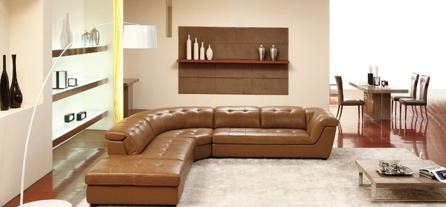 US $850.25 5% OFF|Dermal sofa high grade leather sofa 2015 new living room  sofa special offers near sofa package maildelivery to the shipping port-in  ...