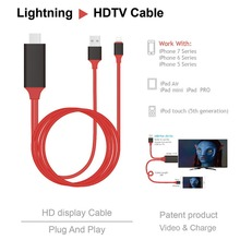 Get more info on the HOT Micro To HDMI 1080P HD TV Cable Adapter For iPhone Screen To TV Cable HDMI 1080p IOS Adapter USB Charger Converter