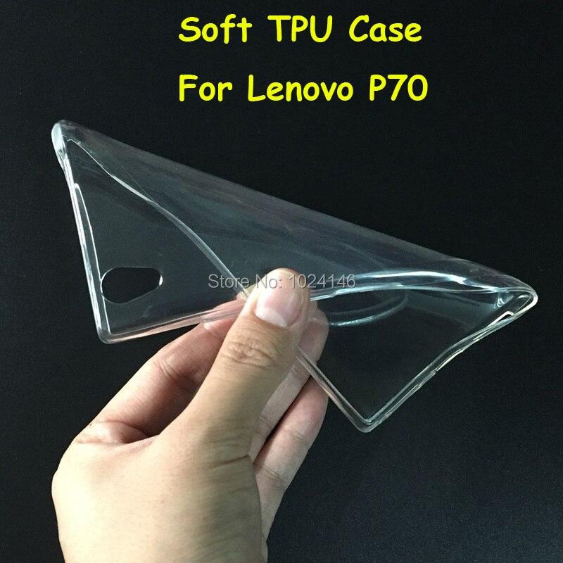 Новый тонкий кристалл прозрачный мягкой ТПУ задняя крышка защиты кожи для Lenovo P70 p70t 5.0 дюймов