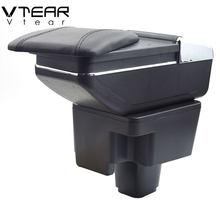 Vlarme pour Chevrolet Sail accoudoir intérieur Console centrale boîte de rangement bras repose voiture-style décoration accessoires pièces 2010 accessoire voiture intérieur