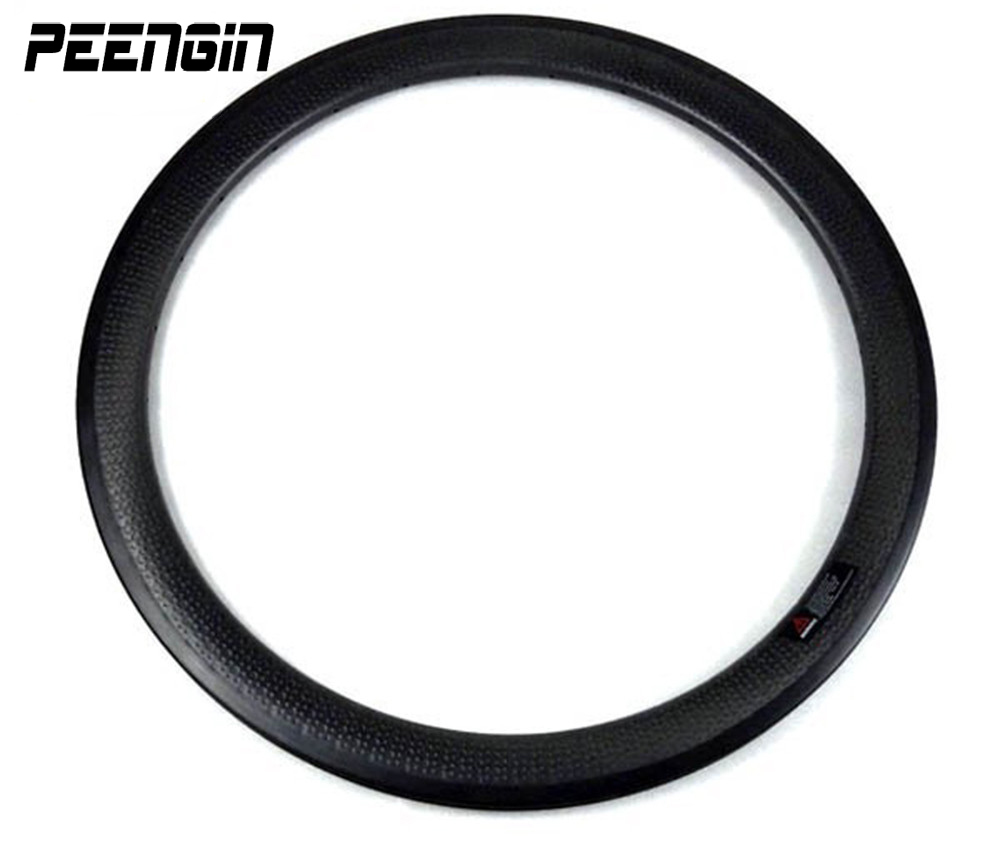 Carbon kuiltje clincher wielen 50mm velg geen sticker rodas snelheid carbono 25mm breed cyclo cross fietsen component online bestseller