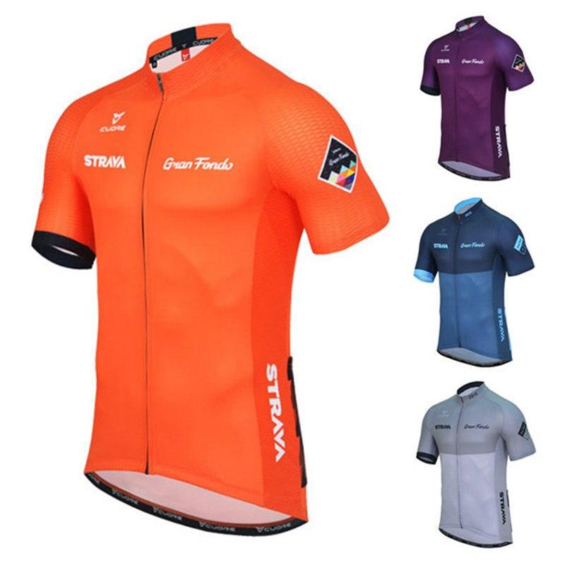 Männer Pro Sommer Radfahren Jersey Kurzarm Fahrrad Trikots Maillot Ciclismo Rennrad Radfahren Kleidung Tops 15 Stil # DX-051
