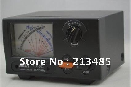 New Original TAIWAN NISSEI RX-503 SWR/Watt Meter 1.8-525MHz 2/20/200W for Two-way Radio