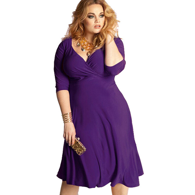 Aliexpress.com : Buy Plus Size Women's Dress vestidos de fiesta ...