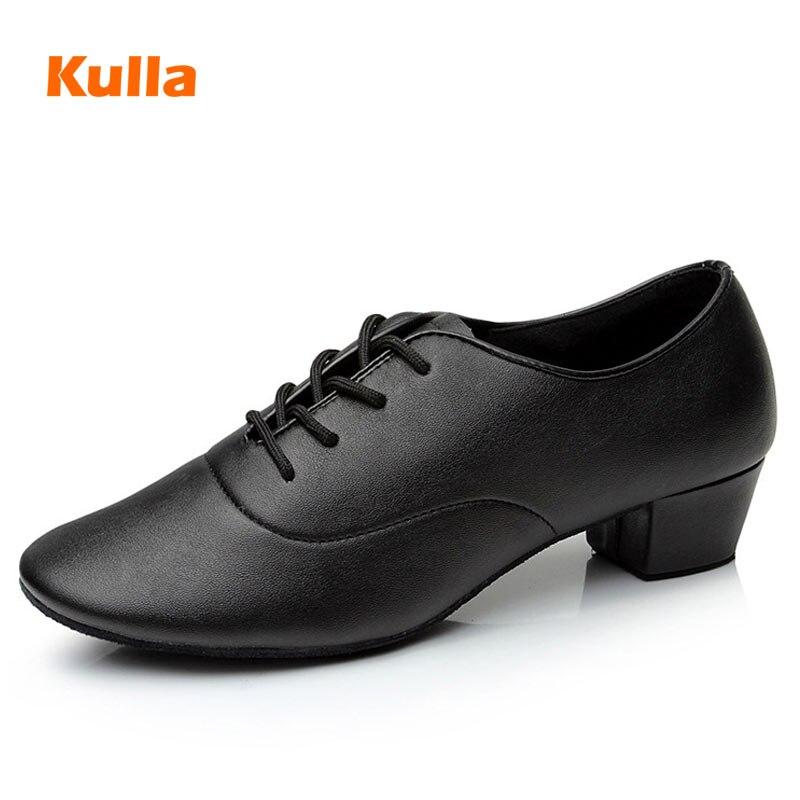 Men's Boy's Latin Dance Shoes Kids Tango Salsa Dancing Shoes Man Soft Sole Ballroom Shoes  Children Stage Show Shoes Size 25-44