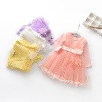 נסיכי שמלת יום הולדת שמלה לתינוקות בנות לפעוטות הילדה רוז 1st תינוק חורף בנות סתיו שמלות ילדים יפים 1 5 שנים