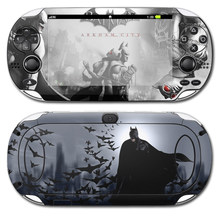 Free Drop Shipping Batman Design High Quality Games Accessories Vinyl Decal for PSP vita 1000 Skin Sticker(China)