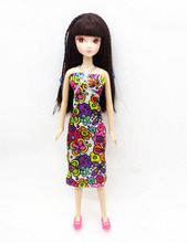 2015 handmade for barbie doll clothes dress the best Christmas gift baby b493