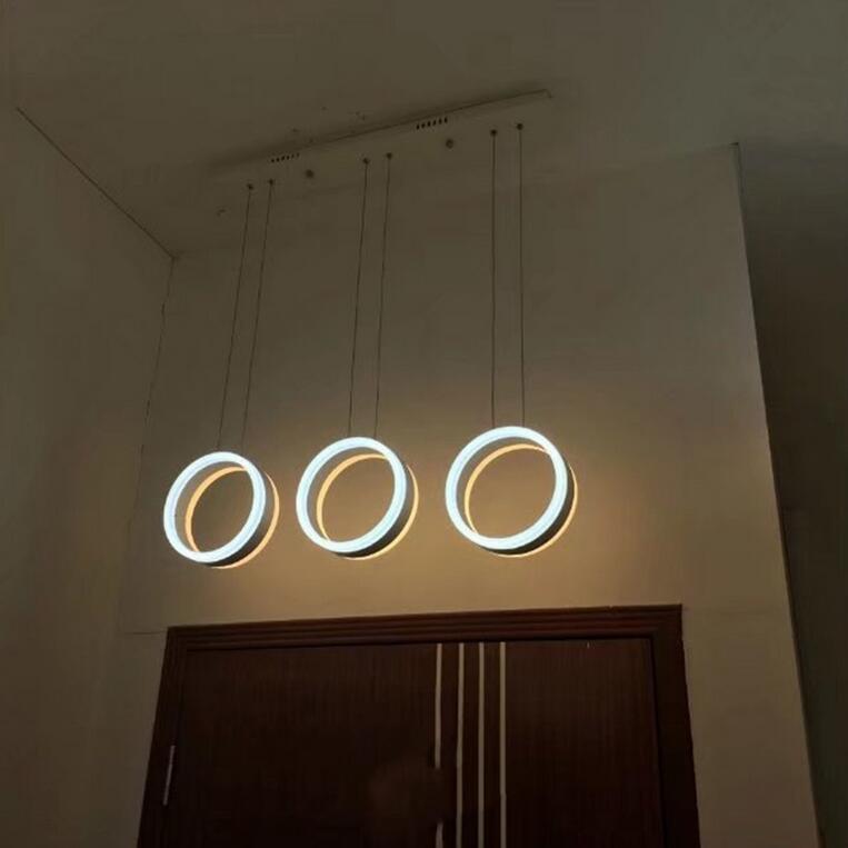 suspended lighting. New Modern Circles LED Pendant Lamp Round Ring Suspended Lighting Bar Lobby Acrylic Bedroom Livingroom -in Ceiling Lights From \u0026 On