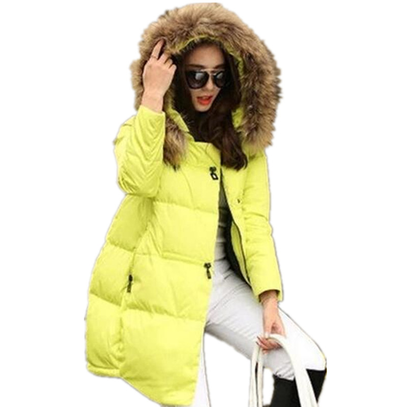 Coat Jacket Hooded Winter Jacket For Women Parkas Mujer New Women's Jacket Fur Collar Outerwear Female Plus Size 5xl #2