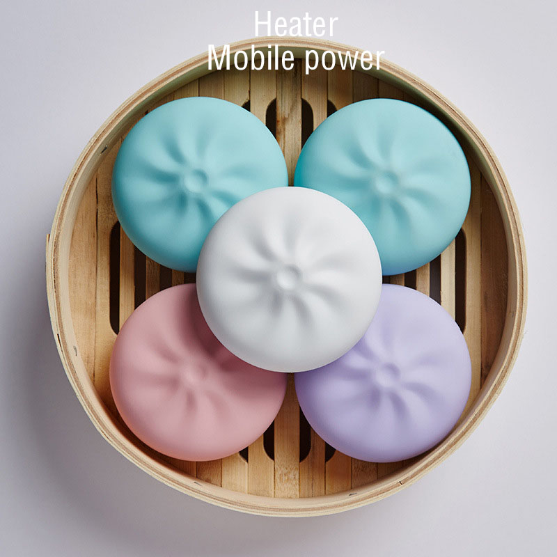 Lucky Stone Stuffed Bun Heater Handwarmer Portable Hand Treasure Mobile Power Usb Charging Electric Warm Electric Cake Wa футболка с полной запечаткой для девочек printio ленин сталин путин