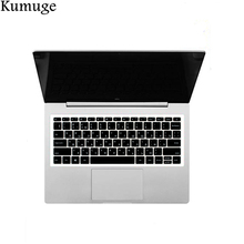 Silicone Russian Language Laptop Keyboard Cover Skin for Xiaomi Mi Notebook Air 12 13 Pro 15.6 Protective Sticker Film