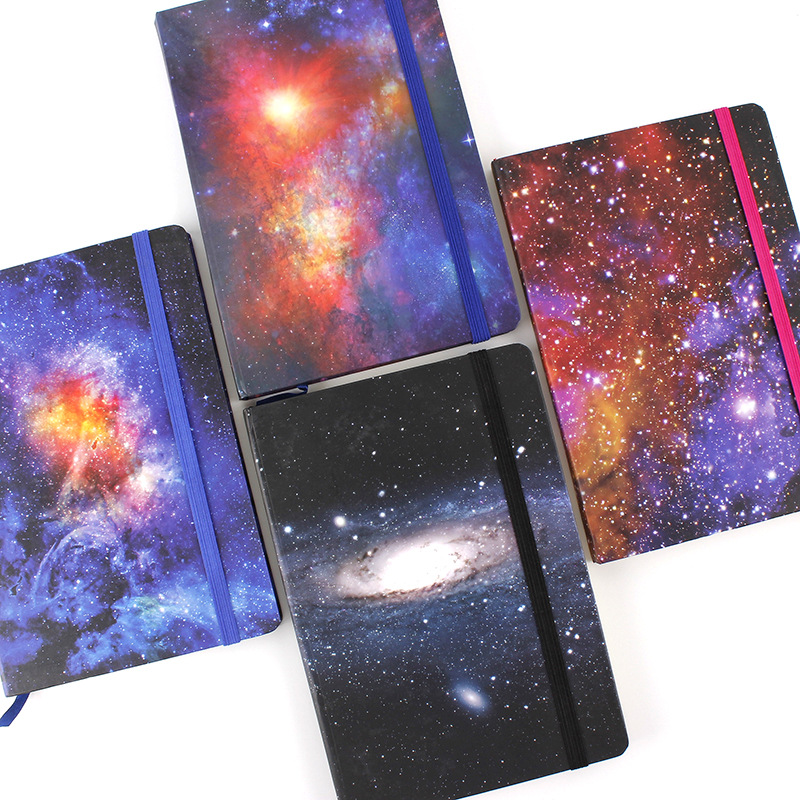 The Universe Hard Cover Lined Freenote Journal Business Diary Notebook Beautiful Journal