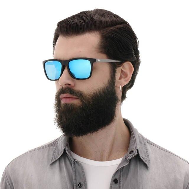f3603dd895b91 AORON Alumínio + TR90 Óculos De Sol Dos Homens Polarizados Marca Designer  wayfare Mulheres Homens