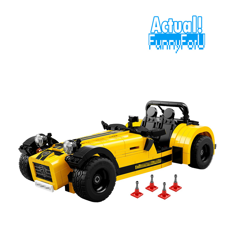 LEPIN 21008 Technic Creator 771pcs The Caterham Classic 620R Racing Car Set Model Building Blocks Bricks 21307 Toysingly generator dual use avr welding voltage regulator 12 wires welding avr 5kw 5kva 6kva 7kva single phase suit for kipor kama