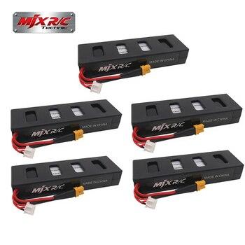 Original 5pcs 7.4 V 1800 mah 25C Li-po battery for MJX B3 rc quadcopter drone (MJX Bugs 3 battery) spare parts accessories