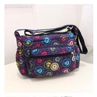 Messenger Traveller Bags Hot Fashion Lady S Shopping Shoulder Crossbody Outdoor Nylon Bags Fresh Carved One