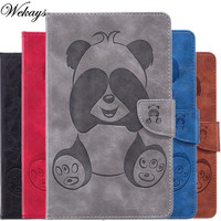 Wekays For Amazon Fire HD8 2017 2016 Cartoon Panda Leather Case For Amazon Kindle Fire HD8