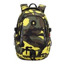 Impermeable camuflaje mochila niños mochila escolar niños mochilas escolares para adolescentes chica mochila hombres bolsas de viaje para niños