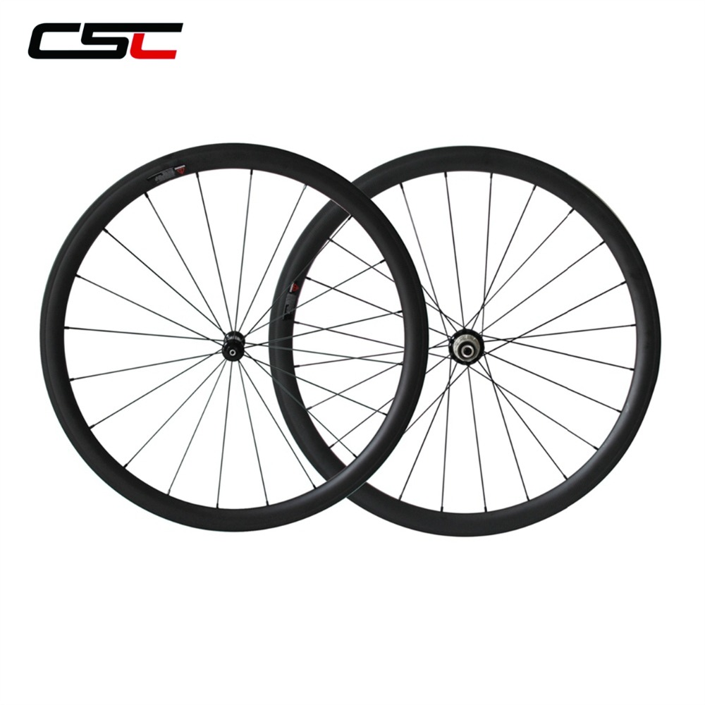 700C Road Bike Wheels 24mm 38mm 50mm 60mm 88mm Tubular Clincher CSC Wheels Powerway R36 Hub