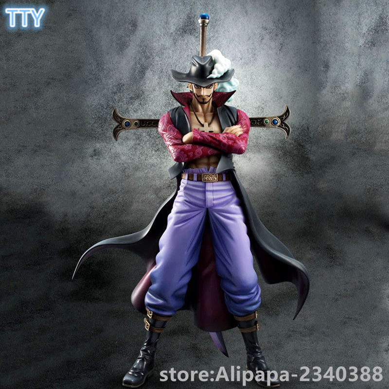 Aliexpress.com : Buy 2016 Japan popular Anime One Piece Mihawk Action Figure 23cm Mihawk figure toy PVC Model for collection toys with box from ...