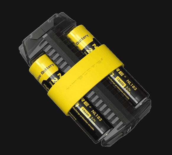 100% Original Nitecore F2 Micro-USB Smart Battery Charger Charging Flexible Power Bank For Li-ion /IMR 26650 18650 Battery