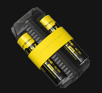 100% Original Nitecore F2 Micro-USB Smart Battery Charger Charging Flexible Power Bank for Li-ion /IMR 26650 18650 Battery Battery Chargers