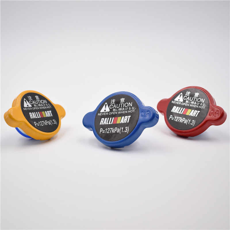 Geel/Rood/Blauw Ralliart High Pressure Radiator Cap 15Mm Big Size Voor Mitsubishi Diamante Outlander Evolution