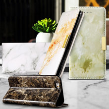 Dulcii Phone Cases for iPhone 6s 6 Plus 5.5″ Shell Marble Texture Wallet PU Leather Cover for iPhone 6 s Plus Mobile Phone Bag